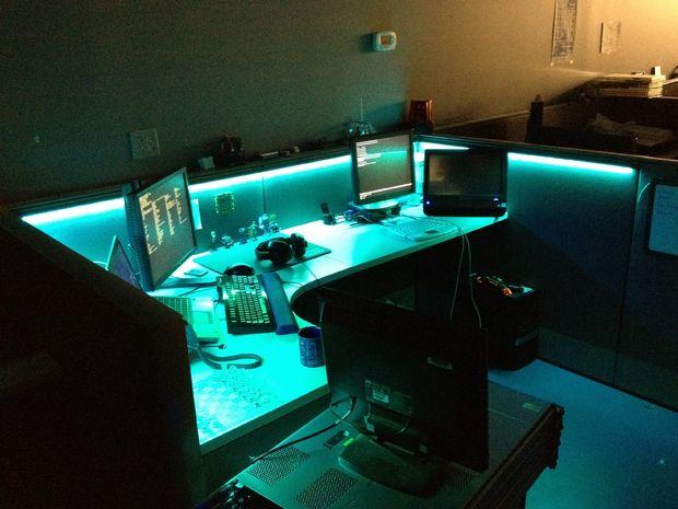 Светодиодная подсветка для стола