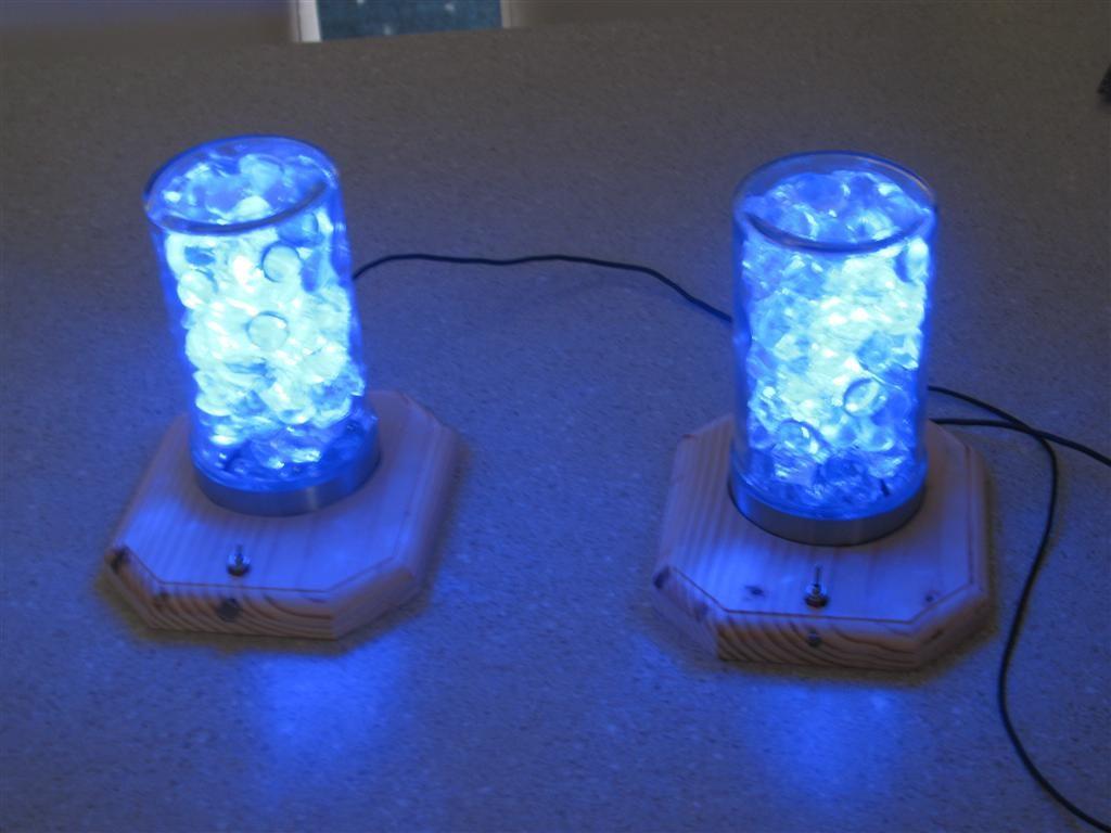 Светильник с светодиодными лампами своими руками 45