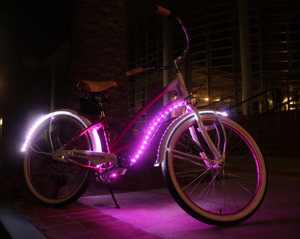 Светодиодная лента своими руками для велосипеда