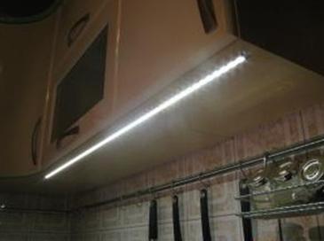 Светодиодная лента на кухне своими руками 123